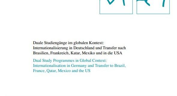 Duale Studiengänge im globalen Kontext