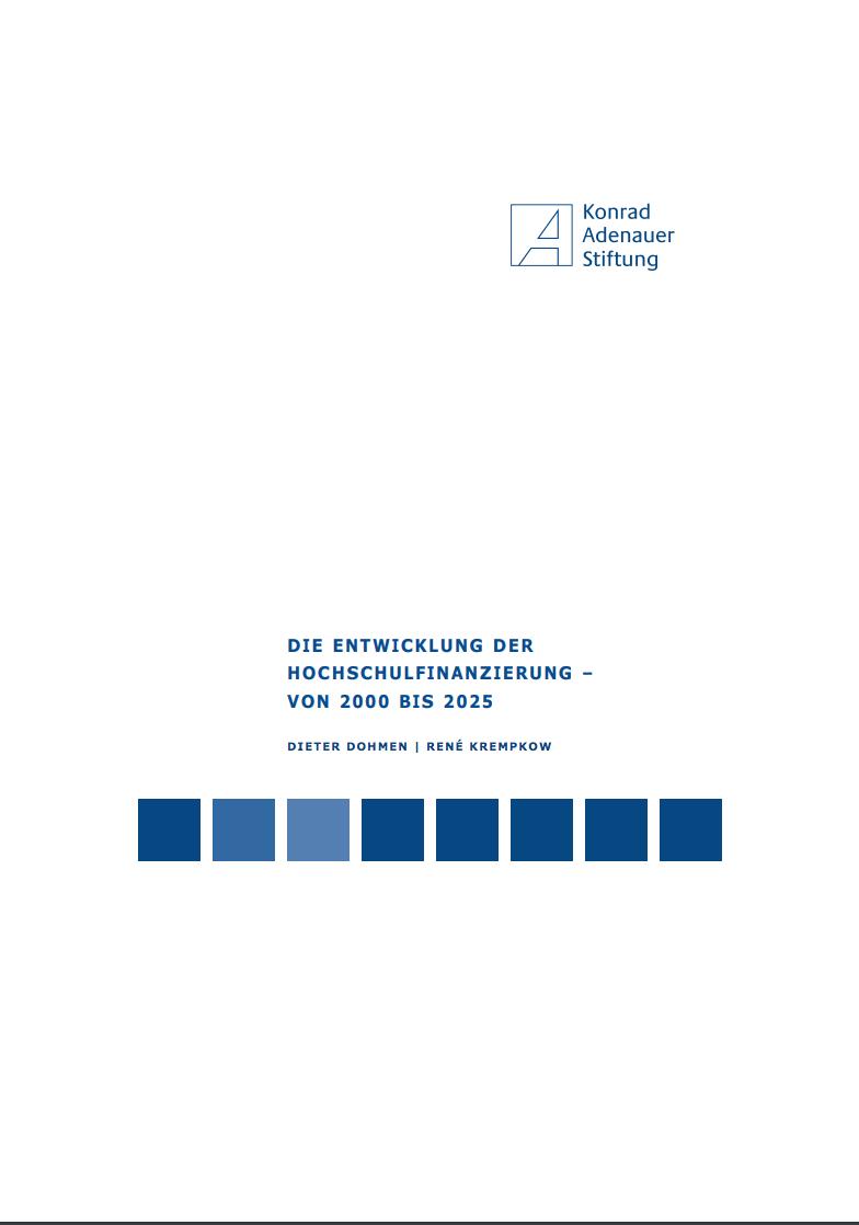 Die Entwicklung Der Hochschulfinanzierung – Von 2000 Bis  2025